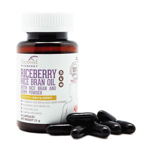 Riceberry Rice Bran Oil Capsules